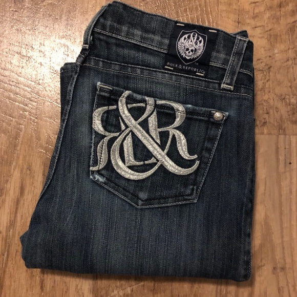 Rock & Republic bootcut jeans RARE